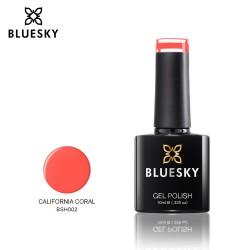 Bluesky BSH002 CALIFORNIA CORAL UV/LED Soak Off Gel Nail Polish 10ml