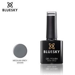 Bluesky QXG546 MEDIUM GREY UV/LED Soak Off Gel Nail Polish 10ml