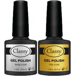 Classy Top and Base Coat Set 7.3ml