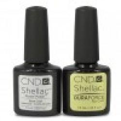 CND Shellac Duraforce Top and Base Coat Set (7.3ml)