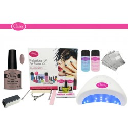 Natural Hesian Classy Deluxe Kit With Choice of Lamp