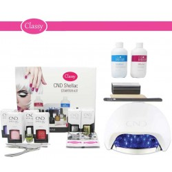CND Shellac Starter Kit With CND LED Lamp