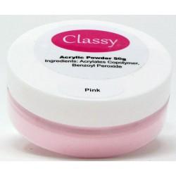 Classy Acrylic Powder 50g (Pink)