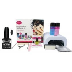 Black Velvet Classy Professional Salon Kit 36W UV Lamp