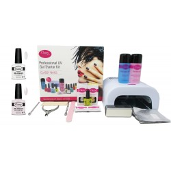 French Manicure Classy Professional Salon Kit 36W UV Lamp