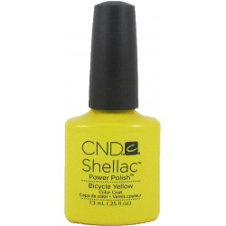 CND Shellac Bicycle Yellow (7.3ml) (UNBOXED)
