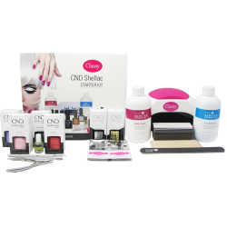 CND Shellac Starter Kit With Classy Nails 48W LED Lamp
