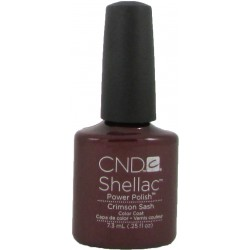 CND Shellac Crimson Sash (7.3ml)