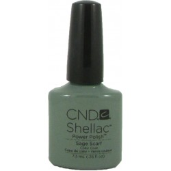 CND Shellac Sage Scarf (7.3ml)
