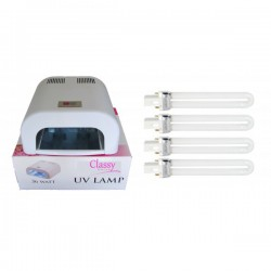 Replacement UV Bulb Pack (4)  - Lamp Switch Rear